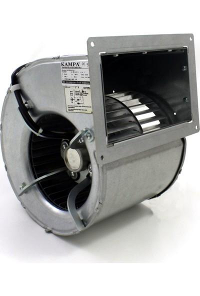 Gamsan D4E160-DA01-22 Radyal Çift Emişli Soğutma ve Havalandırma Fanı 500 m³/h 70 Pa