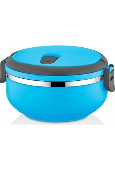 Freshbox Sefer Tası Saklama Kabı Tekli Model 0,75 lt Mavi