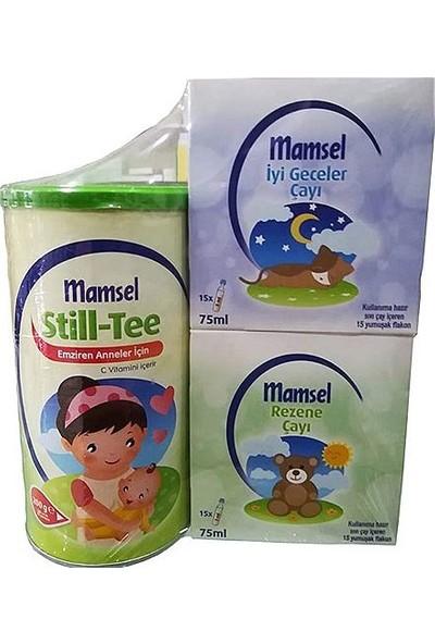 Mamsel Still Tee 200 gr + Rezene Çayı 75 ml + İyi Geceler Çayı 75 ml 3'lü Fırsat