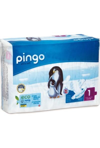 Pingo No:1 Ekolojik Bebek Bezi Yenidoğan 27 Adet