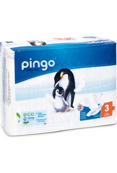 Pingo No:3 Ekolojik Bebek Bezi Midi 44 Adet
