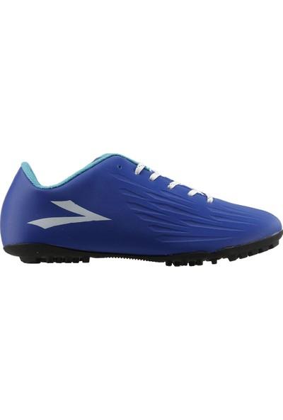 Lig Falcon Erkek Halı Saha Futbol Ayakkabısı Mavi
