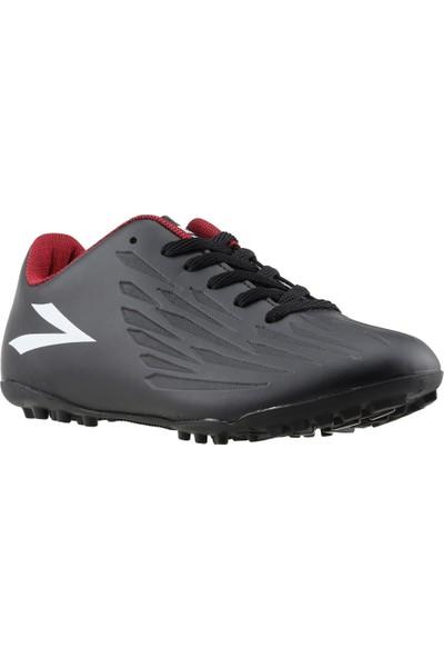 Lig Falcon Erkek Halı Saha Futbol Ayakkabısı Siyah