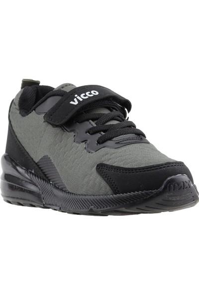 Vicco 938.19Y.177 Günlük Yürüyüş Erkek Çocuk Spor Ayakkabı Haki