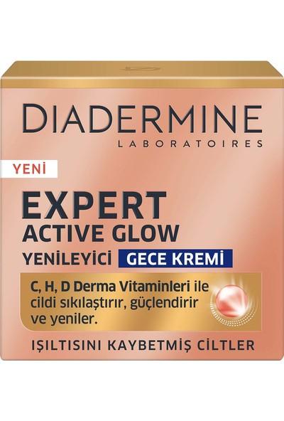 Diadermine Expert Active Glow Yenileyici Gece Kremi 50 Ml