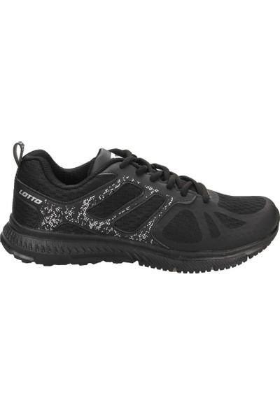 Lotto T0527 Cross Siyah Erkek Yürüyüş Ve Koşu Spor Ayakkabı Siyah