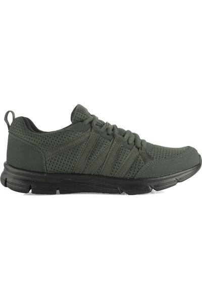 Lotto T0824 Hara Haki Erkek Yürüyüş Ve Koşu Spor Ayakkabı Haki