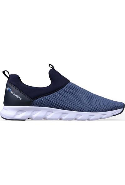 M.P 191-7351 Erkek Bağcıksız Günlük Ve Yürüyüş Spor Ayakkabı Mavı