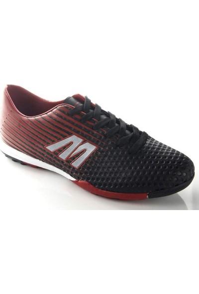 Mp 191-7380 Erkek Futboll Halı Saha Ayakkabı Kırmızı