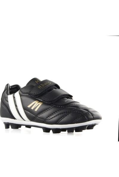 Mp 191-7375 Erkek Çocuk Çırtlı Futboll Krampon Ayakkabı Siyah