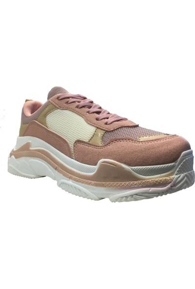 Mille K065 Hardy Kadın Günluk Ve Yürüyüş Spor Ayakkabı Pembe