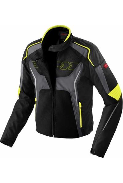 Spidi Tronik Net Yazlık Fi̇le Ceket Si̇yah / Sarı