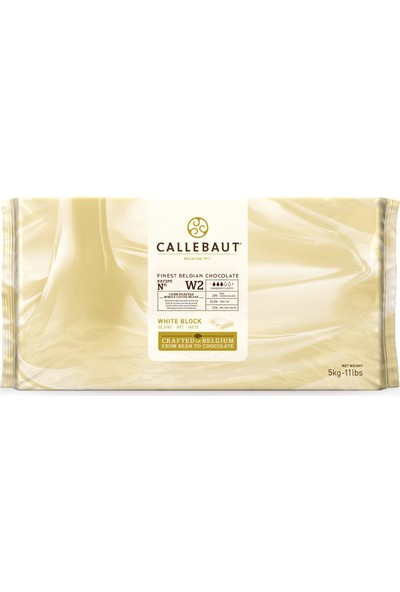 Callebaut Beyaz Çikolata W2 - 5 kg