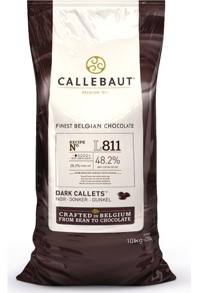 Callebaut Bitter Çikolata L811 - 10 kg