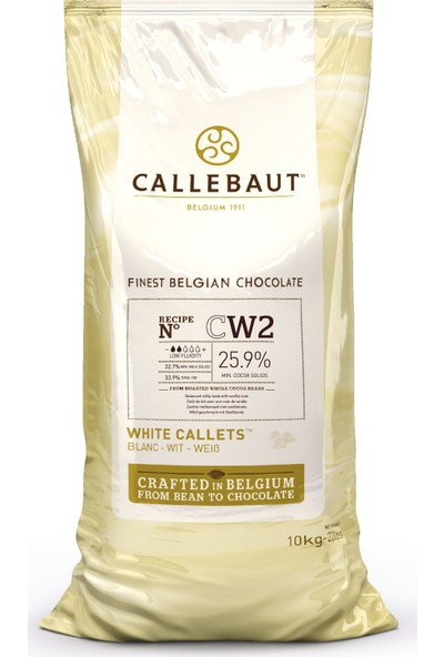 Callebaut Beyaz Çikolata CW2 - 10 kg