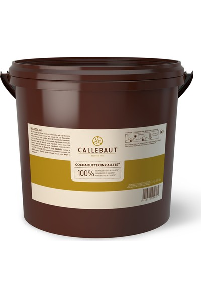 Callebaut Kakao Yağı - 3 kg