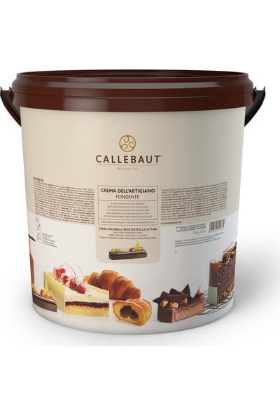 Callebaut Pişebilen Krema - Creme dell' Artigiano Fondente - 10 kg