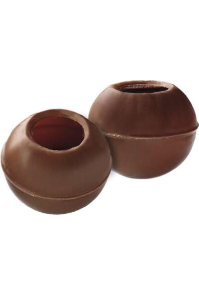 Callebaut Sütlü Çikolatalı Trüf Oluklu Bilyeler - 1.36 kg