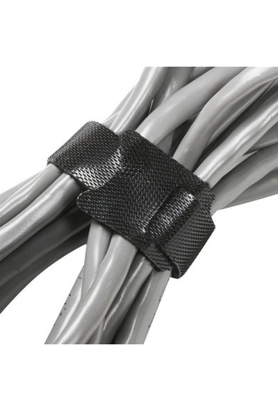 Dodobees Kablo Bağı Cırt Naylon Sarıcı Kancalı Delik Döngü 30'lu