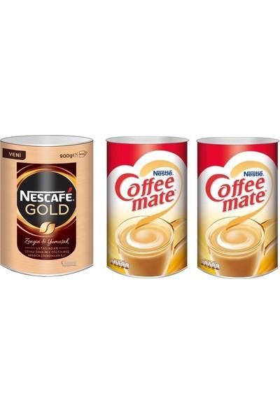Nescafe Gold 900 gr. + Coffee Mate Kahve Kreması 2000 x 2=4000 gr