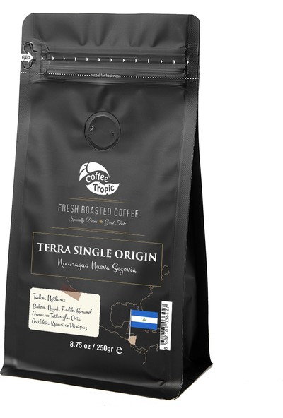 Coffeetropic Terra Single Origin Nicaragua Nueva Segovia 250 Gr