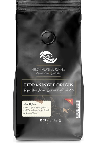 Coffeetropic Terra Single Origin Papua New Guinea Western Highland Aa 1 Kg