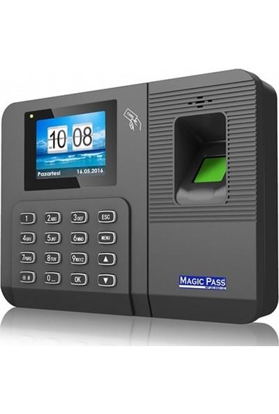 Magic Pass 20656 Id Parmak İzi Personel Takip Cihazı Pdks