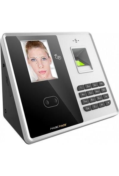 Magic Face Mf 856 Id Yüz Tanıma Cihazı Kartlı Şifreli Parmak İzli 1.000 Yüz Kapasiteli