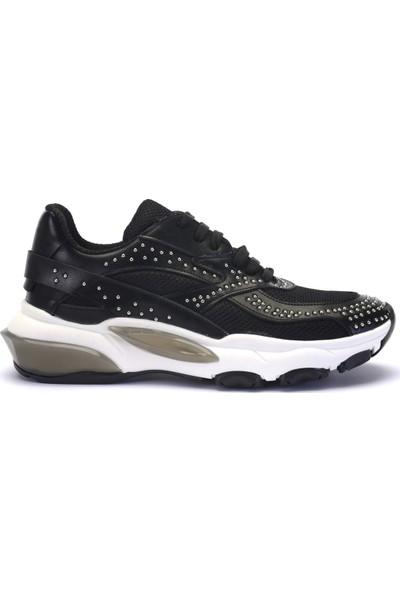 Mille Safır Günlük Giyim Kadın Ayakkabı Siyah