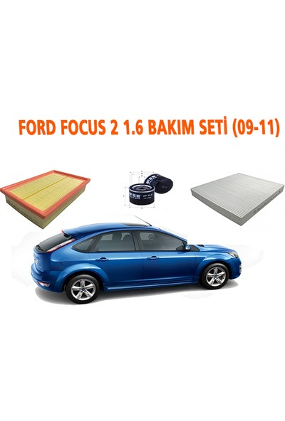Fil Ford Focus 2 1.6 Bakım Seti (09-11)