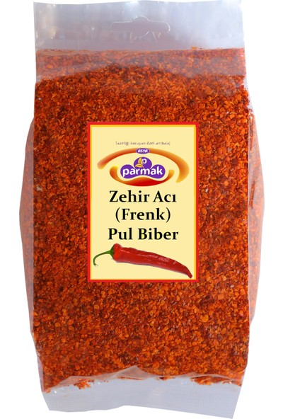 Parmak baharat Zehir Acı (Frenk) Pul biber 250 gr (Çok acı)