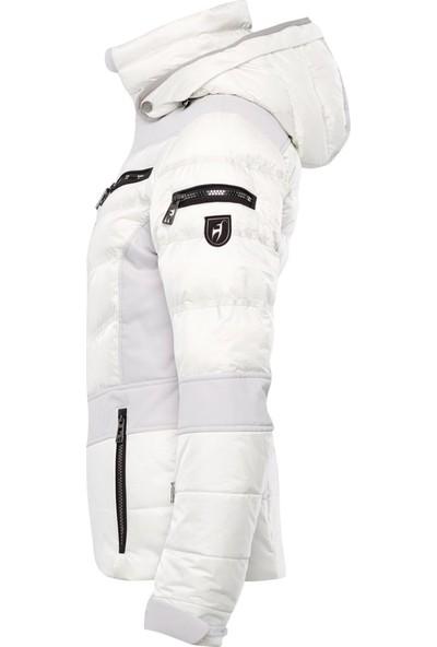 Toni Sailer Maria Kadın Kayak Montu Beyaz