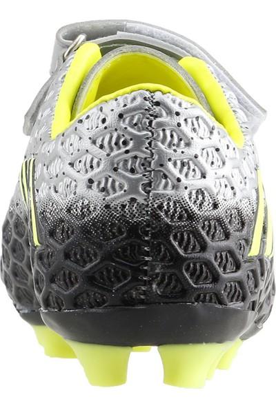Dunlop 111112 Kp Krampon Çim Saha Erkek Çocuk Futbol Ayakkabısı Gümüş