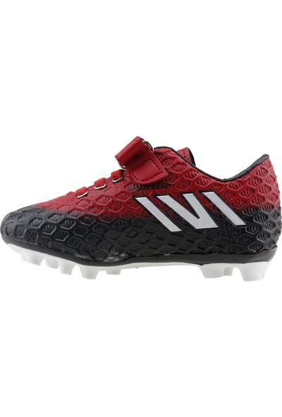Dunlop 111112 Kp Krampon Çim Saha Erkek Çocuk Futbol Ayakkabısı Kirmizi