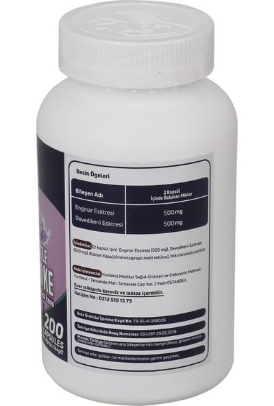 Mefa Naturals Milk Thistle Ve Artichoke 3 KUTU 600 KAPSÜL