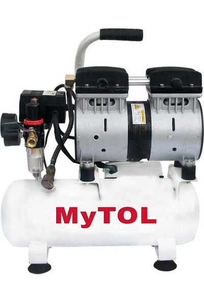 Mytol 8 Litre-0,75Hp Sessiz Kompresör