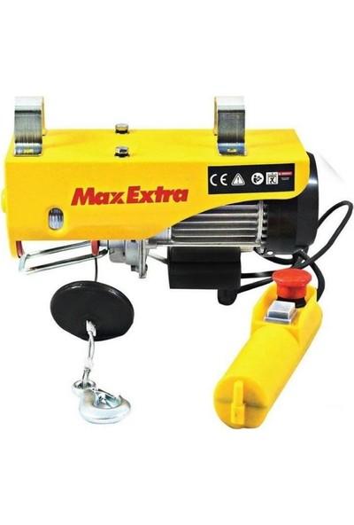 Max-Extra Elektrikli Vinç 600-1200Kg (20-10Mt)