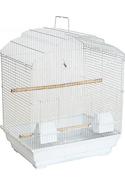 Best Cage Büyük Kapılı Ufak Irk Papağan Kafesi 47 x 36 x 56 cm