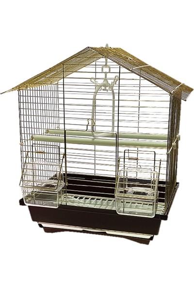 Best Cage BG101 Gold Muhabbet Kuşu Kafes Seti