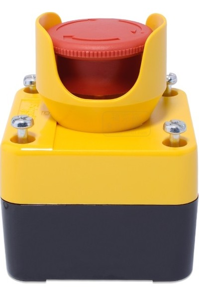 Ukron Acil Stop Butonu Korumalı Kutulu Mantar Stop