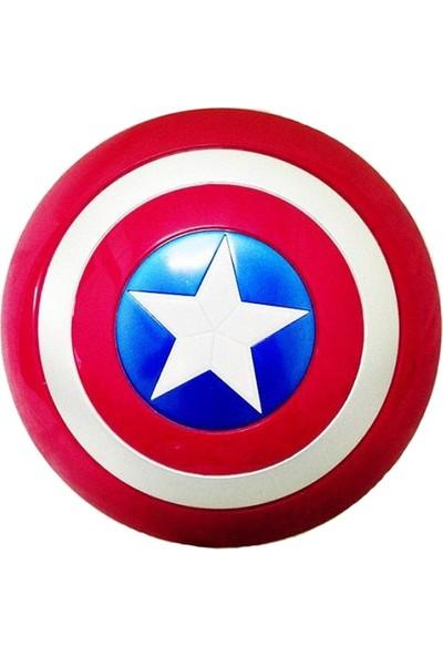 Unika Moda Avengers Kaptan Amerika Işıklı Oyuncak Kalkan - Kaptan Amerika Oyuncak Kostüm Erkek Çocuk