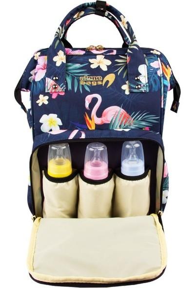 Alone 9317 Bebek Bakım Çantası Flamingo