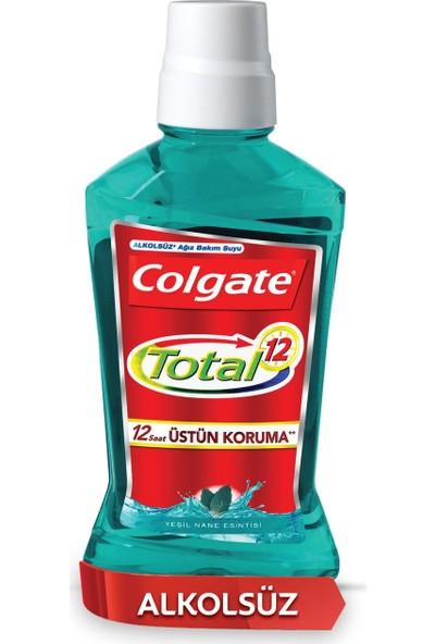 Colgate Total Yeşil Nane Esintisi Alkolsüz Gargara 500 ml X 2 Adet