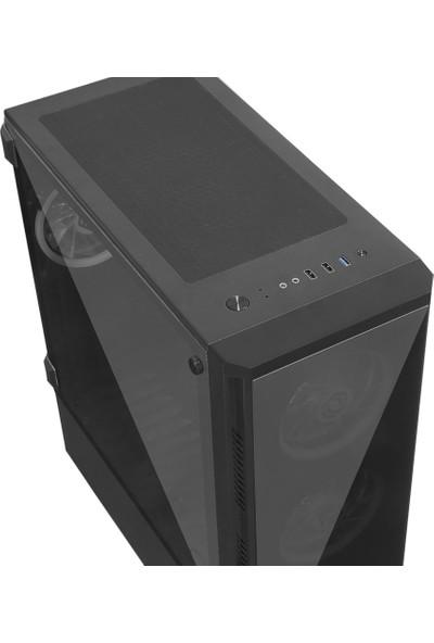 Frisby Venom FC-9270G 650W 80+RGB 4 Fan Oyuncu Bilgisayar Kasası