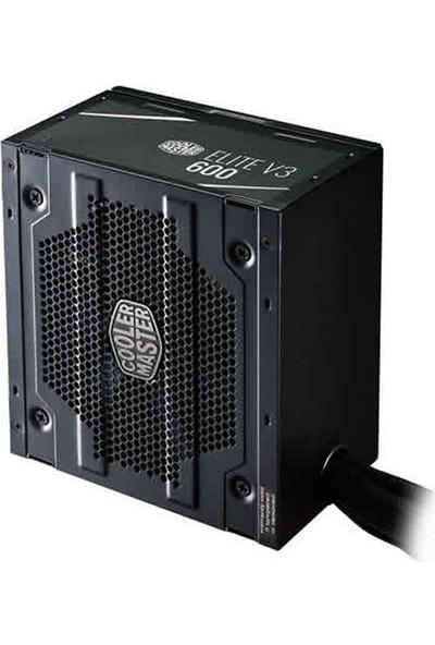 Cooler Master Elite V3 600W Aktif PFC 120mm Fanlı Power Supply PSU MPW-6001-ACABN1