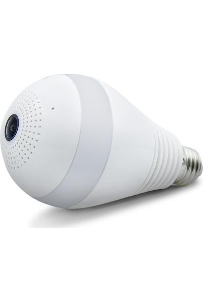 Eays Panoromi̇k 360 Derece Wifi IP Ampul Kamera