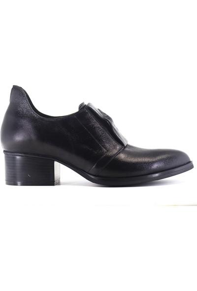 Eşle Ayakkabı Kadın Deri Ayakkabı Siyah