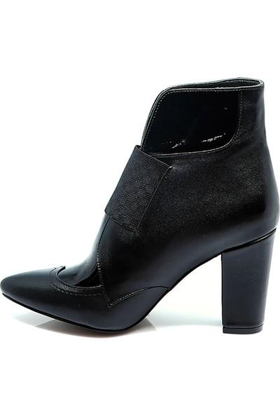 Eşle Ayakkabı Kadın Deri Bot Siyah
