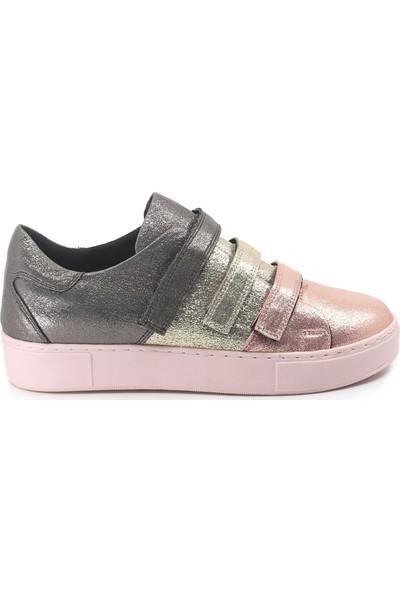 Eşle Ayakkabı Kadın Spor Ayakkabı Pudra