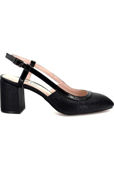 Eşle Ayakkabı 9Y-1153 Kadın Topuklu Ayakkabı Karışıkçok Renkli